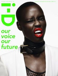 grace boi on the cover of i-d magazine