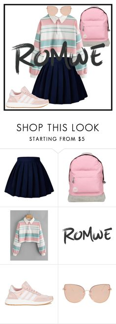 """Untitled #59"" by mldyasa on Polyvore featuring Mi-Pac, adidas and Topshop"
