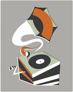 Grammaphone - artist Pam Wishbow