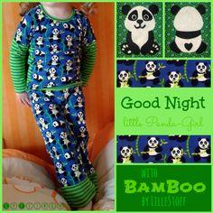 """SyFlinga: """"Meine Pandabär!"""" Lillestoff Bamboo by #enemenemeins"""