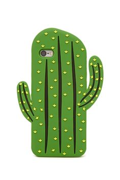 A soft-shell phone case for the iPhone 6® and iPhone 6S® featuring a cactus design.