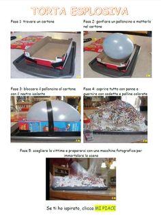 Torta esplosiva