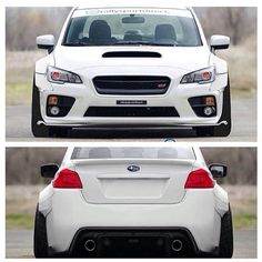 2015 Subaru STI wide body. It looks better with the wide body, but I still think it looks like a ford!
