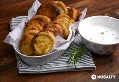 9 nagyon cukkinis recept, amit neked is ki kell próbálnod Fritters, Fresh Rolls, Vegetable Recipes, Potato Salad, Tapas, Food And Drink, Pasta, Healthy Recipes, Meals
