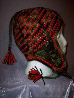 ff252ef829561 Fun and Fabulous Ski Hat Pattern pattern by Julee Fort. Crochet BeanieCrochet  ...