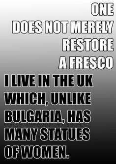 About Uk, Fresco, Restoration, Fresh