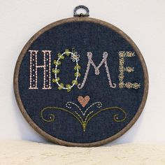 ~ home ~ a handmade home... via Monkey & Squirrel on Etsy