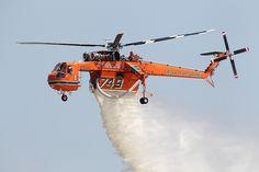 Sikorsky S-64 Skycrane - Erickson Air-Crane