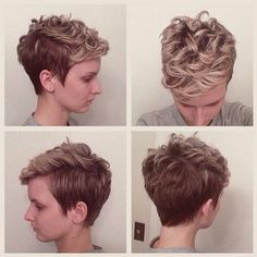 Pixie Haircut with Curly Hair - Short Hairstyles for 2015