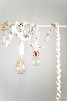 Lâmpadas vintage na decoração