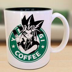Yami Yugi X Yugioh X Starbucks Anime Manga by EternalRivalDesigns