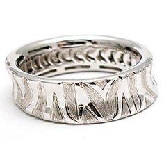 Zebra ring, love this.