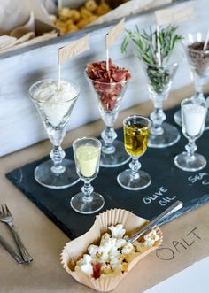 Popcorn Bar with Craft Paper Accents