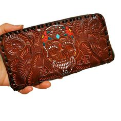 Women's Wallet, Leather, Vintage, Handmade , Hand Tooled Leather, Boho, Bohemian, Large, for Cards, Gift for Her by aymxleather on Etsy Leather Belts, Leather Tooling, Cowhide Leather, Leather Wallet, Wallets For Women Leather, Leather Design, Looking For Women, Zip Around Wallet, Gifts For Her