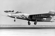 Northrop A-9A under evaluation by the Air Force to be its new tank-buster. It lost out to Fairchild Republic's A-10 Thunderbolt. (It's interesting how similar the Soviet's Su-25 Frogfoot design is to the A-9.)