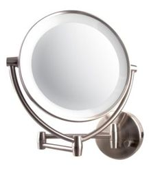 Ovente MLW45BR LED Lighted Wall Mount Vanity Mirror