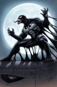 DeviantArt is the world's largest online social community for artists and art enthusiasts, allowing people to connect through the creation and sharing of art. Spiderman Black Suit, Spiderman Art, Batman Vs Superman, Venom Spiderman, Marvel Comics Superheroes, Marvel Heroes, Anti Venom Marvel, Venom Character, Venom Art