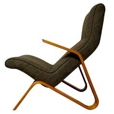 Eero Saarinen Grasshopper Chair for Knoll | From a unique collection of antique and modern lounge chairs at https://www.1stdibs.com/furniture/seating/lounge-chairs/