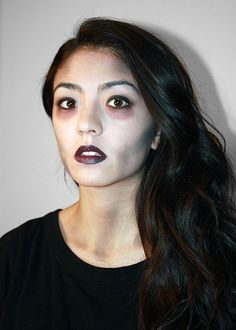 easy pretty zombie makeup - Google Search