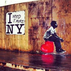 Via Guest of a Guest - NYC Street Art we love! #graffiti