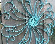 Passionate For Paris Painted Frame Collection. Wrought Iron Wall DecorIron DecorMetal  Wall DecorOutdoor ...