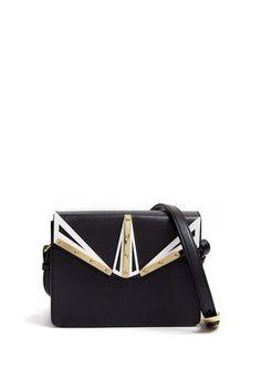 Exclusive Dream Engraved Perpex Leather Bag By Kzeniya