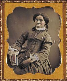1850. Northern free woman
