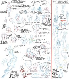Girly Tips by *Robaato on deviantART ✤ || CHARACTER DESIGN REFERENCES | キャラクターデザイン • Find more at https://www.facebook.com/CharacterDesignReferences if you're looking for: #lineart #art #character #design #illustration #expressions #best #animation #drawing #reference #anatomy #traditional #sketch #artist #pose #gestures #how #to #tutorial #comics #conceptart #modelsheet #torso #chest #breast #boobs || ✤