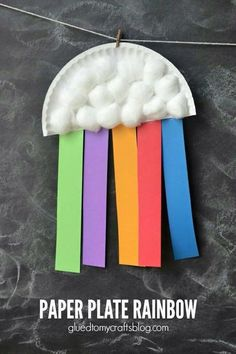 knutselen thema regenboog