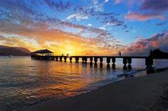 Hanalei Pier, Kauai.   Fave place in the world