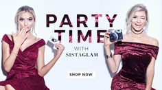 Discover the latest fashion trends in the online fashion shop of SistaGlam by Lipstick Boutique. Get celebrity designed clothing & footwear by SistaGlam and Jess Wright! Jess Wright, Fashion Banner, Latest Fashion Trends, Shop Now, Letters, Marketing, Celebrities, Clothes, Design