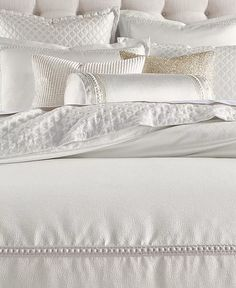Hotel Collection - Ivory Bedding, Bedroom Comforter Sets, Glam Bedding, Neutral Bedding, Bedding Decor, King Comforter, Bedroom Vanity Set, Textured Bedding, Luxury Bedding Collections