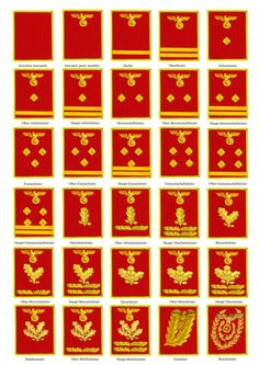 NSDAP ranks