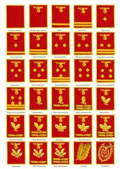 NSDAP ranks