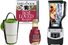 Foodie Holiday Gift Guide Prize Pack! Repin using #WinDIR @DietsInReview and you could score all of this!