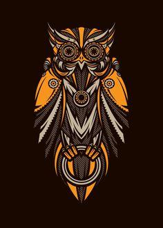 Hand-crafted metal posters designed by talented artists. Owl Tattoo Drawings, Dark Art Drawings, Geometric Owl, Owl Artwork, Owl Wallpaper, Owl Illustration, Sketch Tattoo Design, Metal Birds, Arte Horror