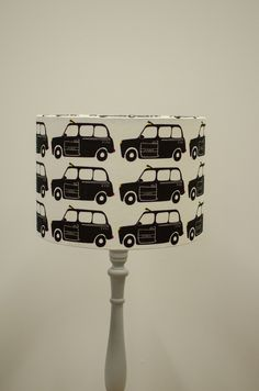 London home decor, Car lamp shade, London theme nursery, London print, Black taxi cab, London taxi, Cars nursery theme, Cars bedroom, Lamps by ShadowbrightLamps on Etsy https://www.etsy.com/uk/listing/587568832/london-home-decor-car-lamp-shade-london