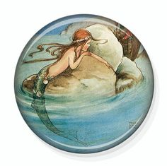 Mermaid Pretty Little Mirror