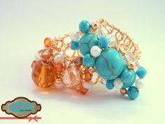 Código: anillo-0003 Anillos de base tejida de oro laminado en diferentes colores. #rings