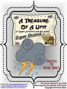 Treasures ~ A Treasure Of A Unit For Grade: Super Storms Elementary Science, Science Classroom, Elementary Schools, Classroom Ideas, Future Classroom, Weather Activities, Book Activities, Officer Buckle And Gloria, Treasures Reading