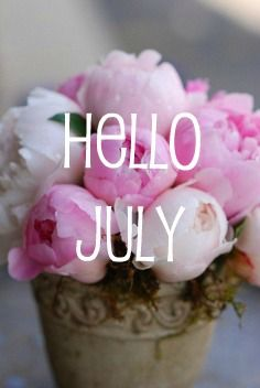 The Glam Green Girl: Hello July