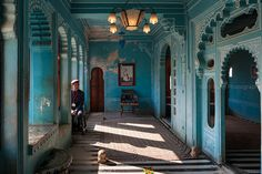 Blue room, Udaipur