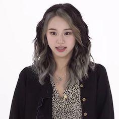 Girl Short Hair, Short Girls, Guys And Girls, Kpop Girls, Straight Hairstyles, Girl Hairstyles, Mint Hair, Kpop Hair, Chaeyoung Twice
