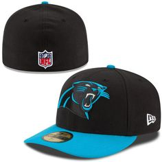 cheap for discount fcef8 00645 Carolina Panthers New Era On-Field Low Crown 59FIFTY Fitted Hat - Black Carolina  Panthers