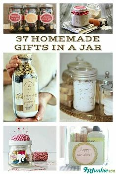Gifts in a jar  http://www.tipjunkie.com/post/gifts-in-a-jar/