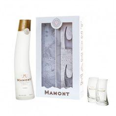Mamont Vodka and 2 glasses Gift Box