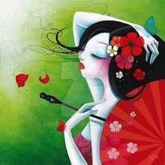 La risee fleurie by LadySybile.deviantart.com on @DeviantArt