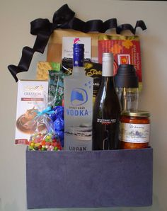 When the occasion calls for sumptuous abundance we have the perfect Gift Baskets!!! http://www.pinkshark.ca/