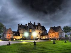Experience out-of-this-world luxury at Castle Leslie Estate in Co. Monaghan, one of the finest luxury castle estates in Ireland. Book your luxurious castle accommodation today! Ireland Vacation, Ireland Travel, Beautiful Castles, Beautiful Buildings, Waterford Castle, Scotland Tours, Scotland Castles, Romantic Destinations, Group Travel