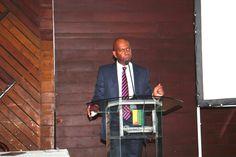 Bob Collymore (CEO, Safaricom) speaking at the ATB Graduate Fair (May 2013)